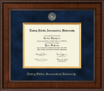 Embry-Riddle Aeronautical University at Daytona Diploma Frame - Presidential Masterpiece Diploma Frame in Madison