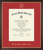 Francis Marion University Diploma Frame - Gold Embossed Diploma Frame in Studio Gold