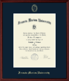 Francis Marion University Diploma Frame - Gold Embossed Diploma Frame in Camby