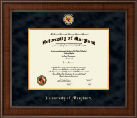 University of Maryland, College Park Diploma Frame - Presidential Masterpiece Diploma Frame in Madison