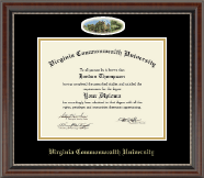 Virginia Commonwealth University Diploma Frame - Campus Cameo Diploma Frame in Chateau