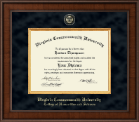 Virginia Commonwealth University Diploma Frame - Presidential Masterpiece Diploma Frame in Madison