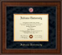 Indiana University - Purdue University at Indianapolis Diploma Frame - Presidential Masterpiece Diploma Frame in Madison