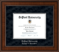 DePaul University Diploma Frame - Presidential Edition Diploma Frame in Madison