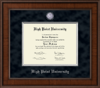 High Point University Diploma Frame - Presidential Masterpiece Diploma Frame in Madison