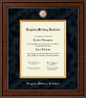 Virginia Military Institute Diploma Frame - Presidential Masterpiece Diploma Frame in Madison