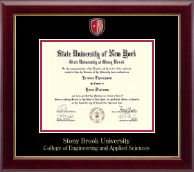Stony Brook University Diploma Frame - Masterpiece Medallion Diploma Frame in Gallery