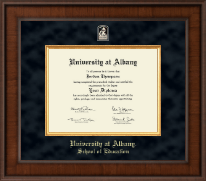 State University of New York  Albany Diploma Frame - Presidential Masterpiece Diploma Frame in Madison