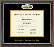 University of Houston-Clear Lake Diploma Frame - Campus Cameo Diploma Frame in Chateau