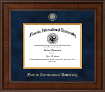 Florida International University Diploma Frame - Presidential Masterpiece Diploma Frame in Madison