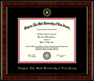 Rutgers University, The State University of New Jersey Diploma Frame - Gold Embossed Diploma Frame in Ridgewood