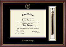 Alma College Diploma Frame - Tassel Edition Diploma Frame in Newport