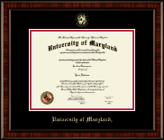 University of Maryland, College Park Diploma Frame - Gold Embossed Diploma Frame in Ridgewood