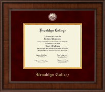 Brooklyn College Diploma Frame - Presidential Masterpiece Diploma Frame in Madison