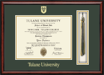 Tulane University Diploma Frame - Tassel Edition Diploma Frame in Southport