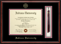 Indiana University - Purdue University at Indianapolis Diploma Frame - Tassel Edition Diploma Frame in Southport