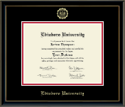 Edinboro University Diploma Frame - Gold Embossed Diploma Frame in Onexa Gold