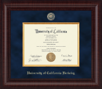 University of California Berkeley Diploma Frame - Presidential Masterpiece Diploma Frame in Premier