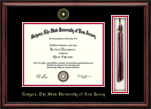 Rutgers University, The State University of New Jersey Diploma Frame - Tassel Edition Diploma Frame in Southport