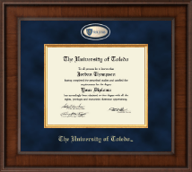 The University of Toledo Diploma Frame - Presidential Masterpiece Diploma Frame in Madison