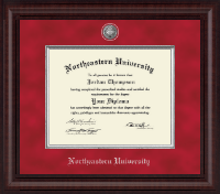 Northeastern University Diploma Frame - Presidential Masterpiece Diploma Frame in Premier