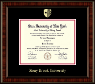 Stony Brook University Diploma Frame - Gold Embossed Diploma Frame in Ridgewood