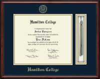 Hamilton College Diploma Frame - Tassel Edition Diploma Frame in Southport