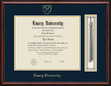 Emory University  Diploma Frame - Tassel Edition Diploma Frame in Southport
