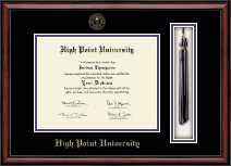High Point University Diploma Frame - Tassel Edition Diploma Frame in Southport