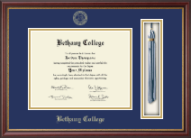 Bethany College in Kansas Diploma Frame - Tassel Edition Diploma Frame in Newport