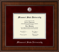 Missouri State University Diploma Frame - Presidential Masterpiece Diploma Frame in Madison