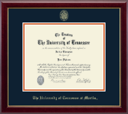 The University of Tennessee Martin Diploma Frame - Gold Embossed Diploma Frame in Gallery