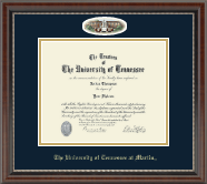 The University of Tennessee Martin Diploma Frame - Campus Cameo Diploma Frame in Chateau