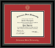 Arkansas State University at Jonesboro Diploma Frame - Gold Embossed Diploma Frame in Noir