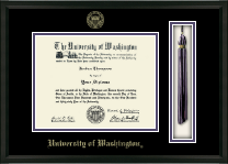 University of Washington Diploma Frame - Tassel Edition Diploma Frame in Omega