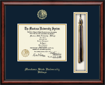 Montana State University Billings Diploma Frame - Tassel Edition Diploma Frame in Southport