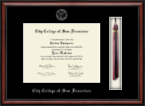 City College of San Francisco Diploma Frame - Tassel Edition Diploma Frame in Southport