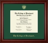 The College at Brockport Diploma Frame - Gold Embossed Diploma Frame in Cambridge