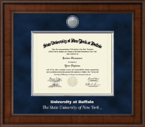 University at Buffalo Diploma Frame - Presidential Masterpiece Diploma Frame in Madison