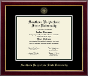 Southern Polytechnic State University Diploma Frame - Gold Embossed Diploma Frame in Gallery
