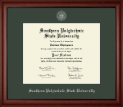 Southern Polytechnic State University Diploma Frame - Silver Embossed Diploma Frame in Cambridge