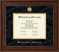William Carey University Diploma Frame - Presidential Gold Engraved Diploma Frame in Madison