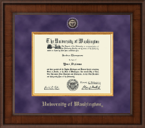 University of Washington Diploma Frame - Presidential Masterpiece Diploma Frame in Madison