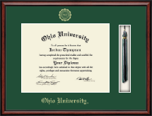 Ohio University Athens Diploma Frame - Tassel Edition Diploma Frame in Southport