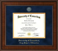 University of Connecticut Diploma Frame - Presidential Masterpiece Diploma Frame in Madison