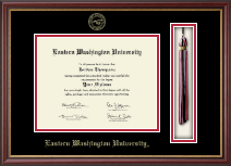 Eastern Washington University Diploma Frame - Tassel Edition Diploma Frame in Newport