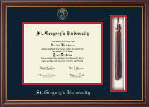 St. Gregory's University Diploma Frame - Tassel Edition Diploma Frame in Newport