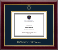 HonorSociety.Org Certificate Frame - Gold Embossed Certificate Frame in Gallery