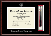 Western Oregon University Diploma Frame - Tassel Edition Diploma Frame in Southport