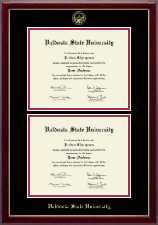 Valdosta State University Diploma Frame - Double Document Diploma Frame in Gallery